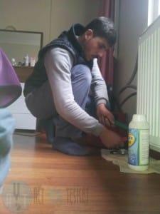 Tuzla petek temizleme